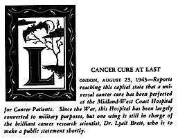 The Patient by E. Mayne Hull, initial decoration by Charles McNutt (1948)