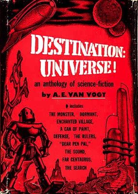 van Vogt 1958 Science Fiction Destination: Universe S1558 A.E Very Good