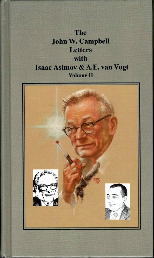 The John W. Campbell Letters: Volume II, cover by Frank Kelly Freas